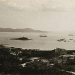 Hafen vom Land