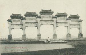 Pailou ca 1910