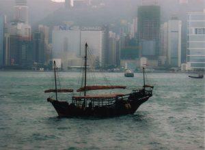 Im Hafen von Hongkong